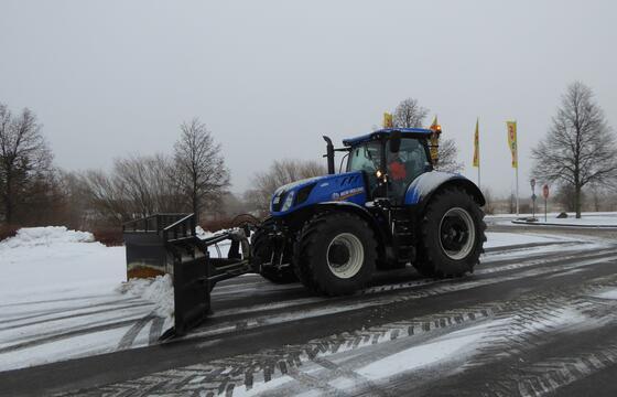 Winterdienst Bethaniencenter Neubrandenburg